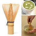Nueva Llegada Ceremonia Japonesa De Bambú 64 Chasen Batidor de Té Verde Matcha Polvo Cepillo Cepillos Herramienta de Molinillo de Café
