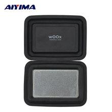 AIYIMA 2 unids 100*75mm Radiador de Bajos de Vibración Película Altavoz Pasivo Altavoz BRICOLAJE Membrana Auxiliar Placa Pasiva Altavoz para WOOX