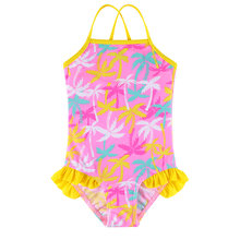 2017 new baby girl swimdress 하트 수영복이있는 귀여운 나무 원피스 수영 세트 two pieces bodysuit swimwear clothing teens(China)