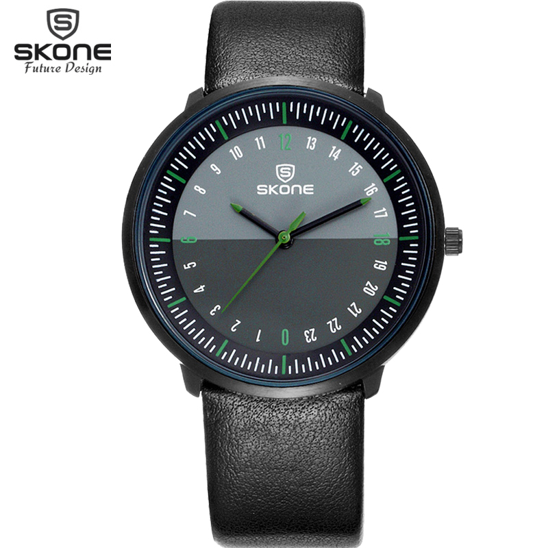 Skone Luxury Top Brand New Fashion Men Watches Men's Big Dial Designer Quartz Watch Male Wristwatch relogio masculino reloj watches men luxury top brand guanqin new fashion men s big dial designer quartz watch male wristwatch relogio masculino relojes