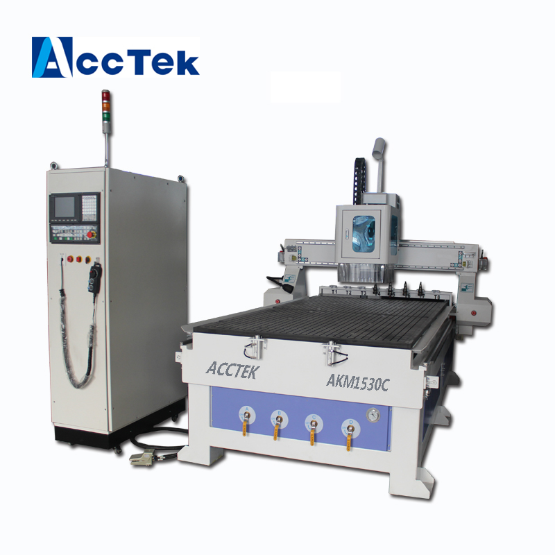 China Price 3d Relief Engraving Cutter CNC Router Machine ATC 1325 With 8pcs Carousel Tool Holder