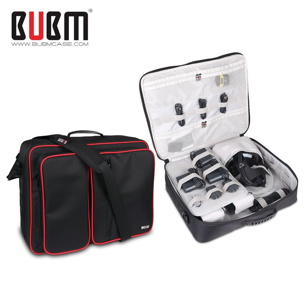 BUBM Video Game Bags For HTC VIVE Game Console Controller Travel Shoulder Case Backpack  gamepad portable storage bag waterprrof