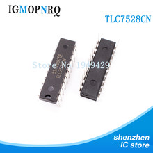 5PCS TLC7528CN DIP20 TLC7528 Digital to converter - DAC Dual 8bit Mult New Original(China)