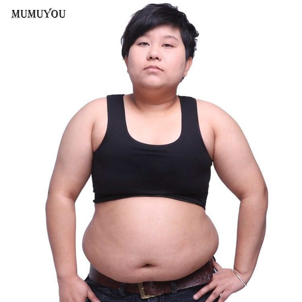 Les Corsets Plus Size Short Underwear Lesbian Tomboy Lingerie Bustiers Underbust Women Sexy Bra Vest Tank Top Bandage 906-656