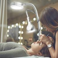 Nowa lampa stołowa 2 w 1 Clip Design USB regulowane zimne światło led z możliwością przyciemniania Clip światło robocze Beauty Tattoo Fishing lampka do makijażu w Lampy na biurko od Lampy i oświetlenie na