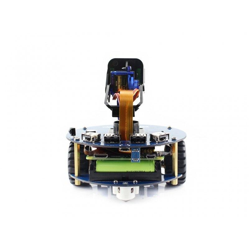 AlphaBot2 робот строительный комплект для Raspberry Pi Zero WH, с контроллером Raspberry Pi Zero WH (встроенный WiFi, предварительно Паянные заголовки