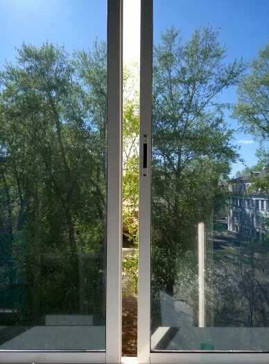 1//2//3m Reflective One Way Window Film Foil Mirror Privacy Sticky Glass Tint 75cm