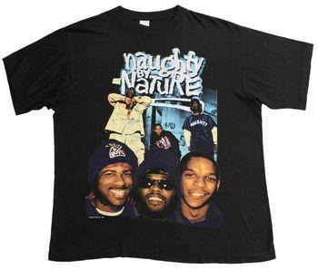 167e6d506fa Travieso por naturaleza 1995 camiseta Vtg Rap Hip Hop Fugees Sade Selena  nuevo Tops 2018 imprimir letras T camiseta Tee Top