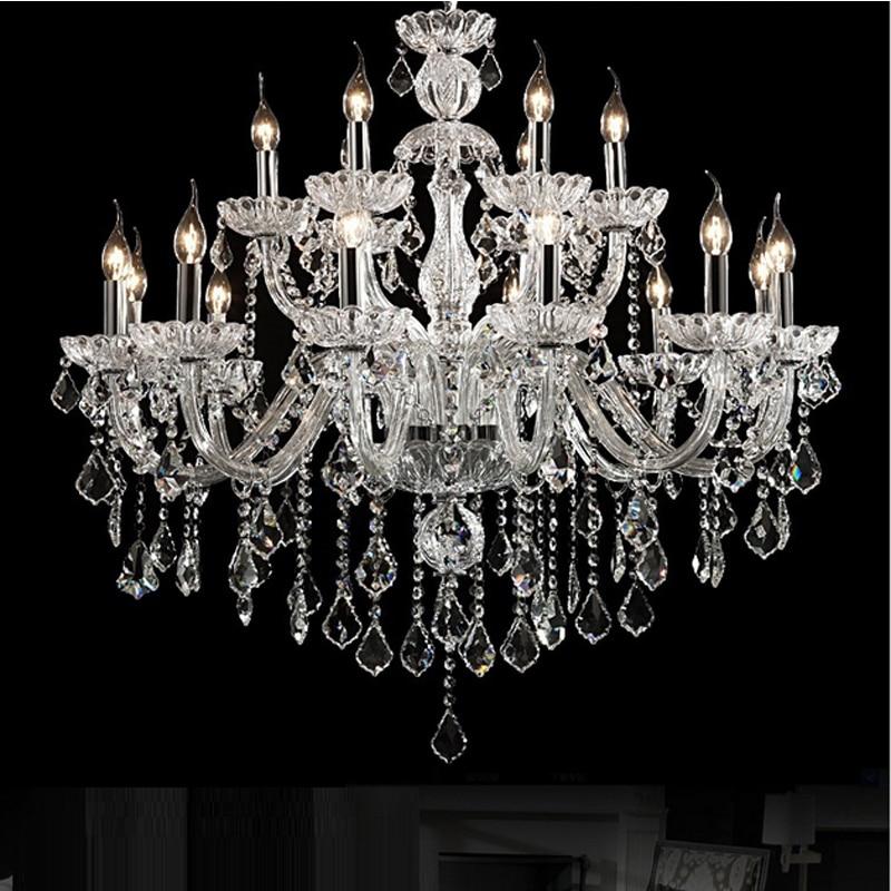 moderní lustr křišťálový přívěšek domácí lustry dvouplášťový křišťálový lustr maria theresa moderní křišťálové osvětlení led