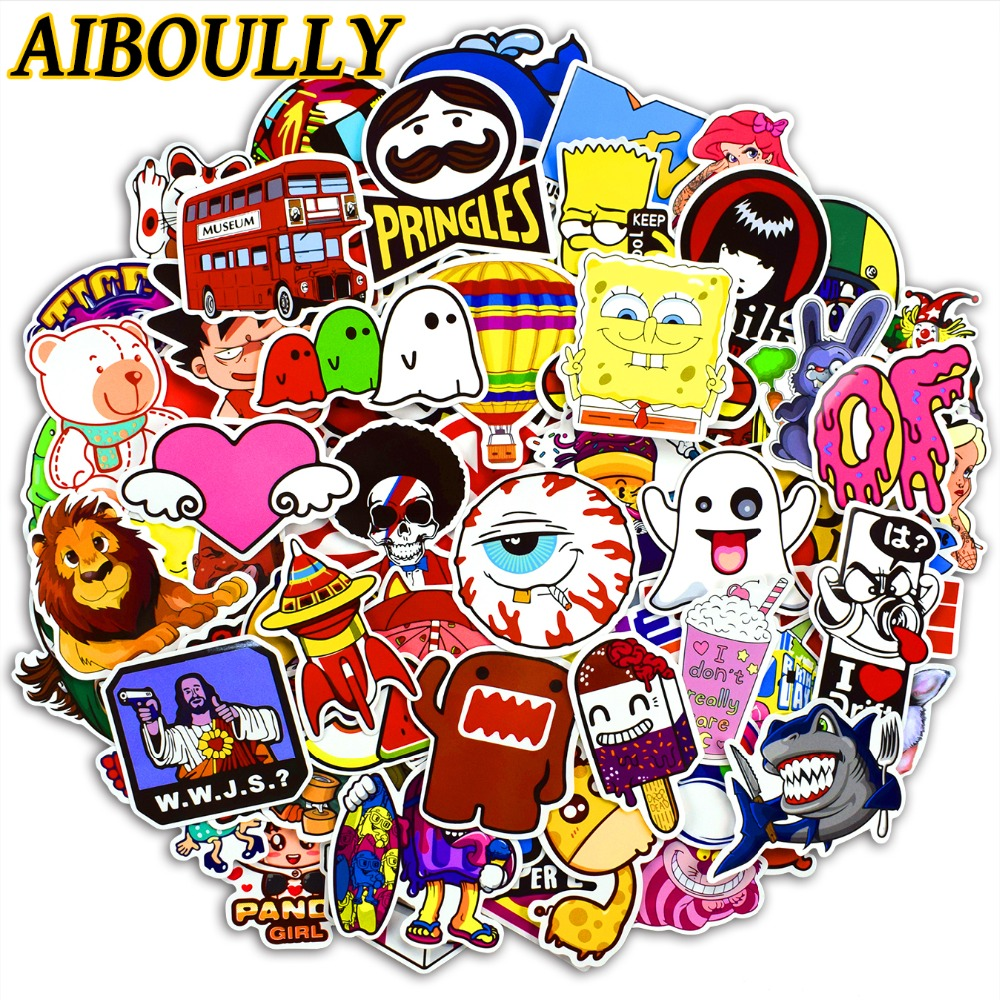 Quantity 100 piece stickers packet feature all 100 pcs sticker are different in one packet stickers style are cartoon anime stickers