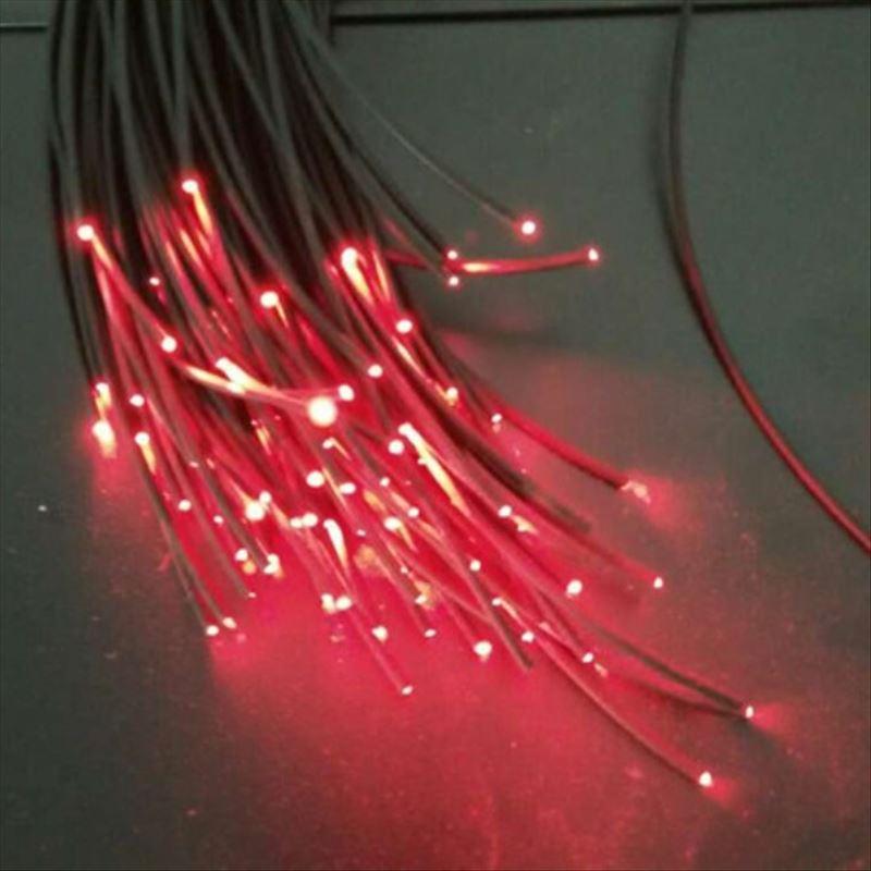 5mX Black PMMA End Glow Plastic Optical Fiber Cable Inner Diameter 2mm/3mm/5mm/6mm/8mm/10 For Light Illumination Free Shipping