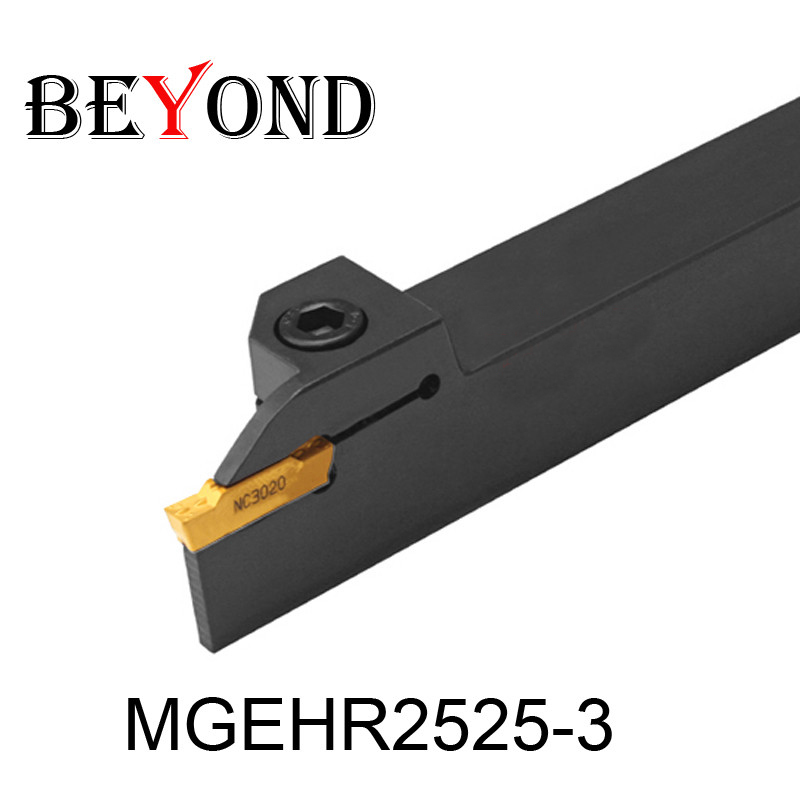 OYYU Outlets de fábrica MGEHR2525-3 Soporte de herramienta de torneado externo Barra de mandrinado de espuma Máquina de corte cnc MGEHR 25x25 Herramientas de torno