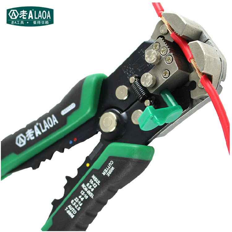 Brand Automatic Wire Stripping Professional Electrical Stripper High Quality Designer Belts Men Pliers Designer Belts Men high quality iron wire frame sun glasses women retro vintage 51mm round sn2180 men women brand designer lunettes oculos de sol