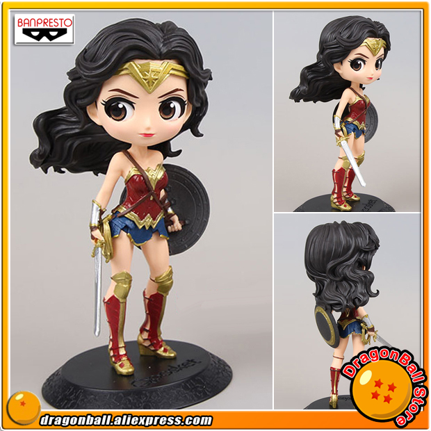 Anime Justice League Original Banpresto Q Posket Collection Figure Wonder Woman