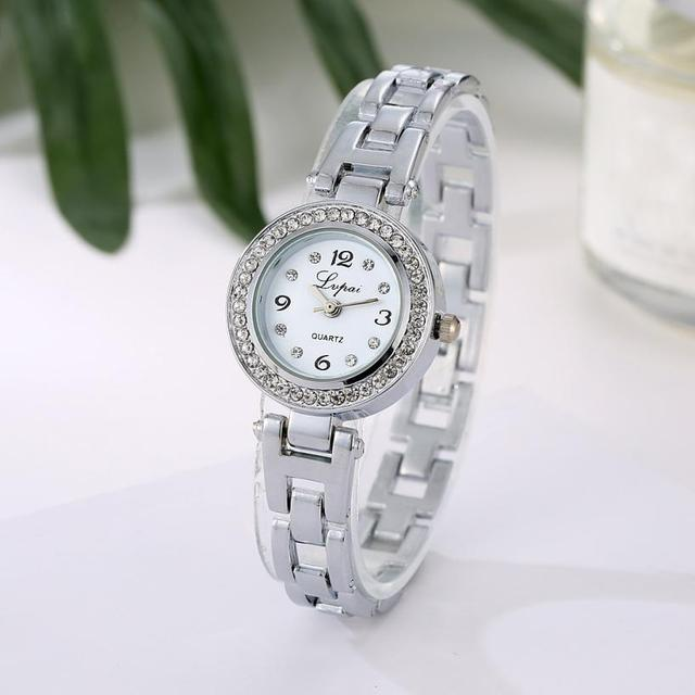 bayan kol saati Women Watches ladies Quartz Ladies Stainless Steel Bracelet Watc
