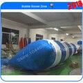 Free shipping & 0.9mm PVC Tarpaulin 8m*3m inflatable water pillow,jump bag, air bag jump(Free pump+ repair kits)