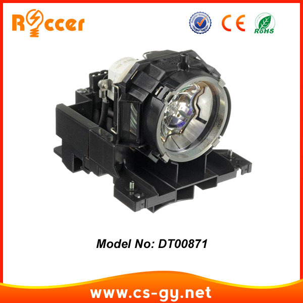 все цены на Compatible Projector Lamp Bulb DT00871 with housing for HITACHI CPX615 / CPX705 / CPX807 NSHA 275W онлайн
