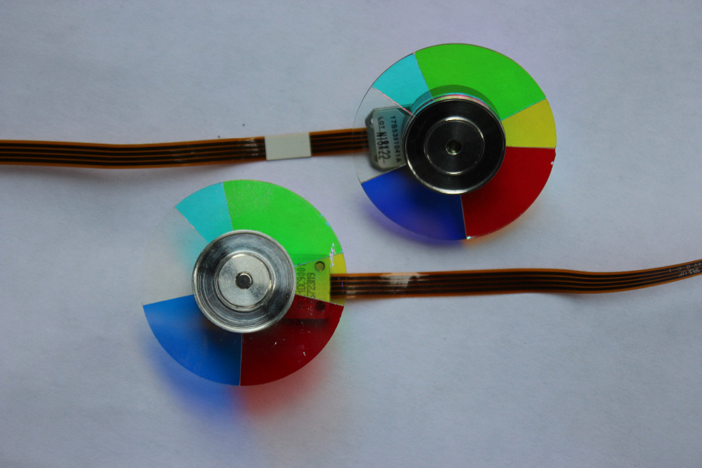 Wholesale Original Projector color wheel  for OPTOMA HD141x Color wheel    1pcs wholesale original projector color wheel for optoma dp7255 color wheel