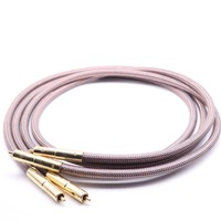 YIVO Hifi RCA Cable Accuphase 40th Anniversary Edition OCC pure copper RCA Interconnect Audio Cable Gold plated plug