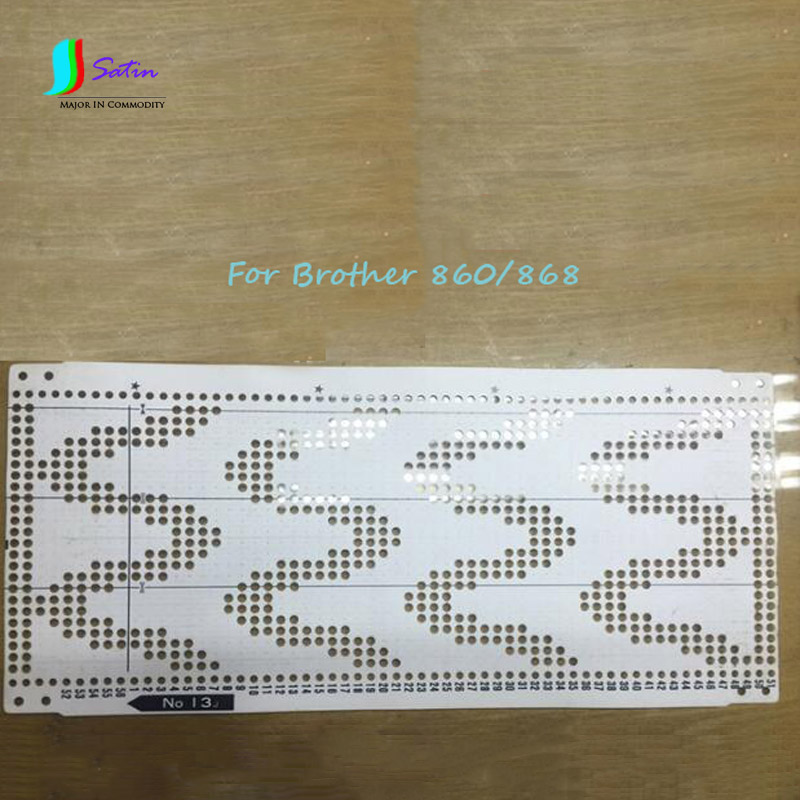 Hot Sale Brother KH860/868 Knitting Machine Accessory Punch Paper Card Set,Mixed 20 Styles Punch Card S0195H
