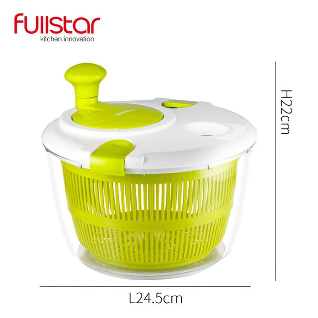 Fullstar Salad bowl Jumbo Salad Spinner Kitchen Tools kitchen accessories  for vegatable Mixer Salad gadgets food helper 5