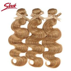 Image 2 - Tissage en lot brésilien Remy Body Wave coloré vison blond, 27 et 613, 10 à 26 pouces, Extension capillaire, livraison gratuite