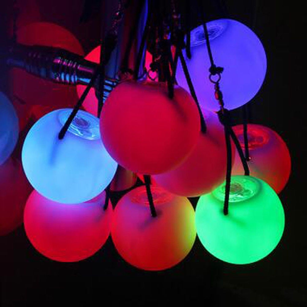 Waterproof Professional Belly Dance Level Hand Props LED POI Thrown Balls  For Xmas Home Party Wedding Garden Outdoor Decoration