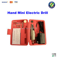 Free Shipping Adjustable Variable Speed Micro Hand Mini Electric Drill