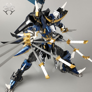 Image 2 - COMIC CLUB IN LAGER Teufel Hunter DH01 Blau Krieger mb Datum Masamune GUNDAM VIDAR Legierung Rahmen action roboter figur spielzeug