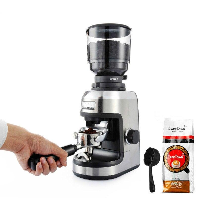 Welhome ZD-17N Italiano moedor Elétrico moedor de grãos de Café moedor de Casa Comercial 150W moedor da rebarba cônica