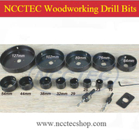 1 Package Of 13pcs Woodworking Drill Bits Drilling Holes For The Board Of Wooden Gypsum Plastic