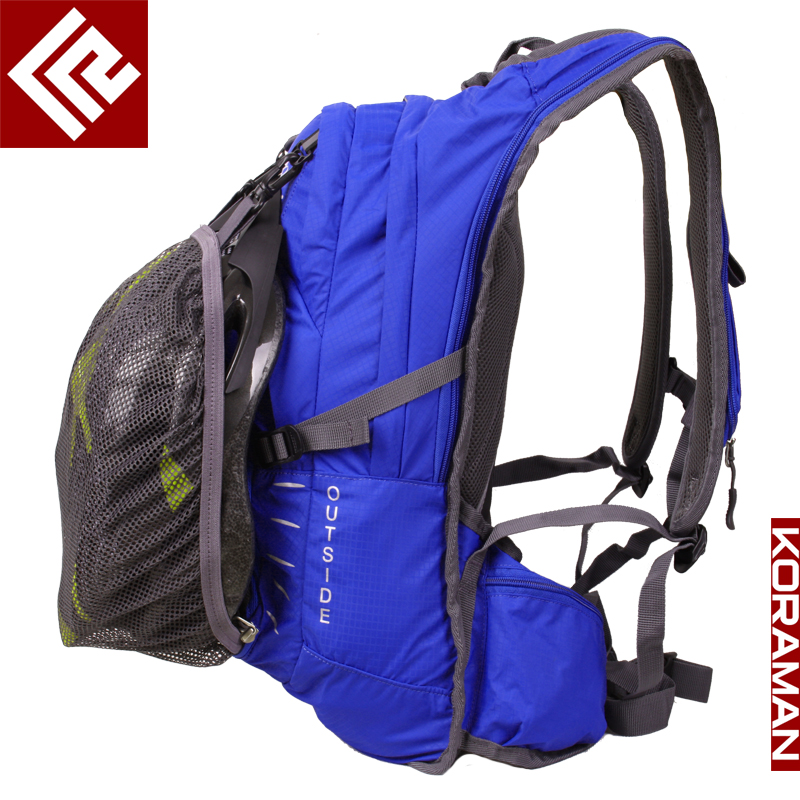 KORAMAN cycling backpack men women bicycle bag breathable backpack bicycle riding equipment 15L outdoor mountaine2101