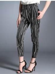 Новый продукт большого размера женские шелк тутового шелкопряда Женские брюки повседневные Модные Шелковые Штаны