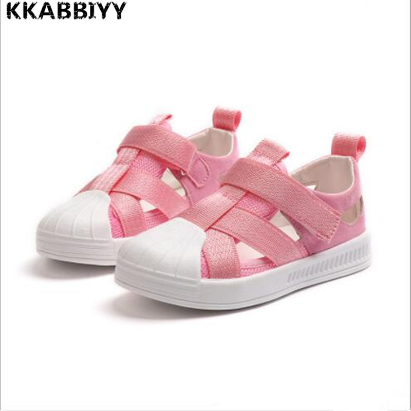 kids New Arrivals Outdoor Beach Child Boys Sandals Shoes Flat Fashion Cloth Soft Bottom Kids Sandals For Girls