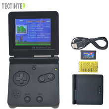 8-Bit Game Console dengan Bulit-in 142 Game GB Station Light boy SP PVP Handheld Game Player Retro Style Untuk Gaming
