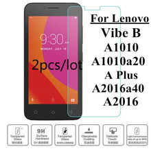 9H Tempered Glass For Lenovo A plus A1010a20 A2016a40 Aplus A1010 Case Screen Protector on VibeA A 1010 a20 2016 a40 Vibe B Capa(China)
