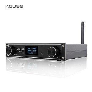 Image 1 - KGUSS DP A1 Amplificador Digital Bluetooth 4,2 CSR64215, entrada USB/óptica/Coaxial/TAS5352A 24Bit AUX/192KHz 120w * 2