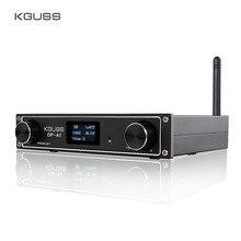 KGUSS DP A1 Digitale Bluetooth 4.2 CSR64215 Versterker USB/Optische/Coaxiale/AUX Input TAS5352A 24Bit/192KHz 120w * 2