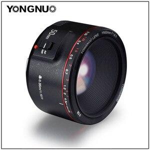 Image 1 - YONGNUO YN50mm F1.8 II Tự Động Khẩu Độ Lớn Tập Trung Ống Kính 50Mm Lentes Cho Canon 100d 650d 5d 77d 500d 1000d 5DIV 5DIII 5DII 5D 60D