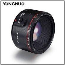 YONGNUO YN50mm F1.8 II büyük diyafram otomatik odak lensi 50mm Lentes Canon 100d 650d 5d 77d 500d 1000d 5DIV 5DIII 5DII 5D 60D
