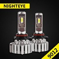 NIGHTEYE 70W 9000LM 9012 LED Headlight Kit Fog Light Bulbs 6000K HID White Lamps