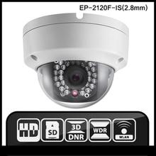 OEM DS-2CD2120F-IS (2.8 мм) HIK ip-камера МПК камеры безопасности 1080 P камеры наблюдения HIK 4MP NVR DVR инфракрасная камера ВИДЕОНАБЛЮДЕНИЯ