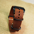 New replacement for Garmin Fenix 3 Watch Band Strap crazy horse leather nato