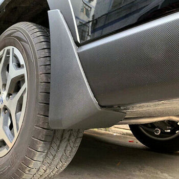 واقي من الطين واقيات الطين الفتحات سبلاش فلابس 4 قطعة لسوبارو فورستر 2019-في تصميم كروم من السيارات والدراجات النارية على
