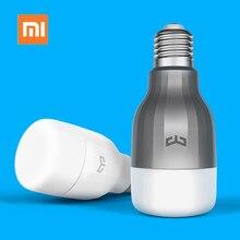 Original Xiao mi yeelight Lâmpada Led INTELIGENTE Colorido App WIFI CONTROLE Remoto 9 w 600 lumens De luz Led INTELIGENTE Mi luz