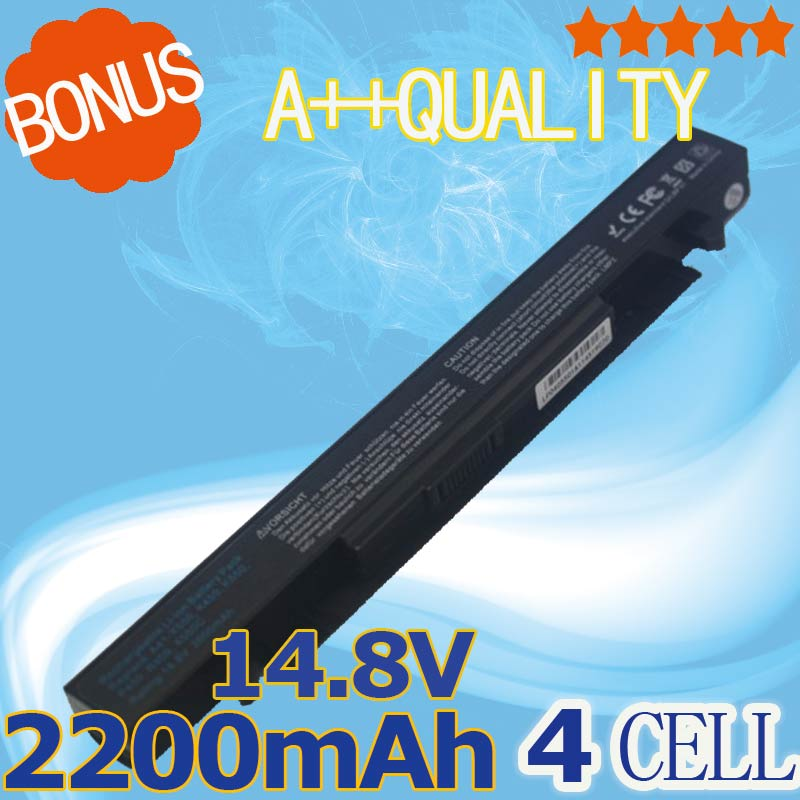 2200mAh Battery For Asus A41-X550 A41-X550A A450 A550 F450 F550 F552 K550 P550 R409 R510 X450 X550V X550C X550A X550CA R510C new for asus x550 x550va x550v x550l a550 x550c k550 lvds lcd screen video display cable 1422 01jq000 free shipping