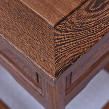 Ming and Qing mahogany furniture wood side a few corner Chinese antique tea table coffee wenge plus pumping teasideend