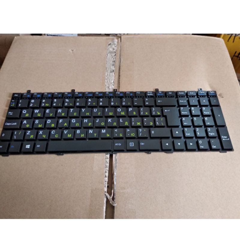 GZEELE RU New FOR CLEVO W370ET W350ET W370SK W350ST SK W355ST W370ST W355 W370 W670SC W670SR W350SS Russian Laptop Keyboard RU