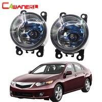 Cawanerl For Acura TSX 2011 2014 100W High Power H11 Car Light Halogen Bulb Fog Light DRL Daytime Running Lamp 12V 2 Pieces