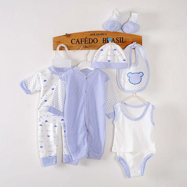Boutique 8pcs 2015 New 100 Cotton Summer Style Newborn Baby Boy
